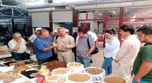 Tacikistan Tarım Bakanlığı Heyeti Besni'de