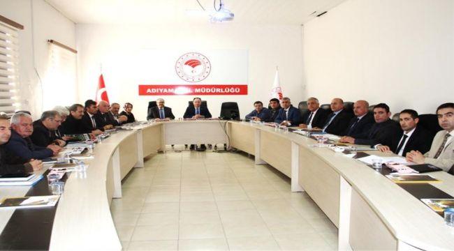 Tarım ve Orman İl Müdürlüğü, Yılın İlk Koordinasyon Toplantısını Yaptı