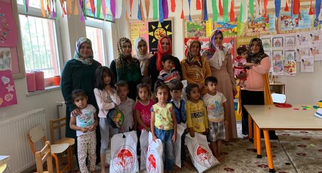 TOGEM-DER, Samsat'ta Bin 500 Çocuğu Sevindirdi