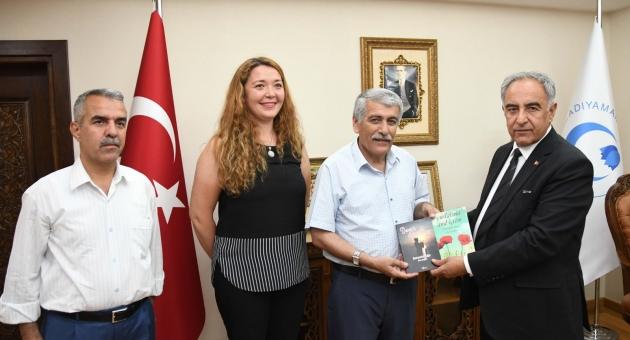 Türk Eğitim- Sen'den Adıyaman Üniversitesine Ziyaret