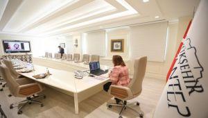 Türkiye Belediyeler Birliği Encümen Toplantısı Telekonferansla Yapıldı