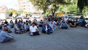 Türkiye Enerji Su ve Gaz İşçileri Sendikası'ndan oturma eylemi - Videolu Haber