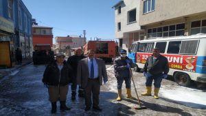 Tut İlçe Belediyesi, Dezenfekte Çalışmalarını Sürdürüyor