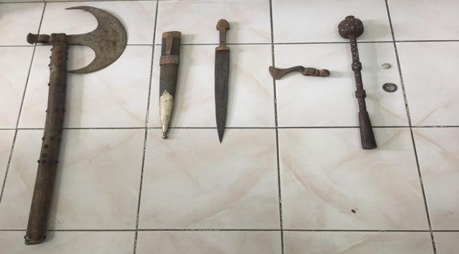 Tut'ta Tarihi Eser Operasyonu: 2 Gözaltı