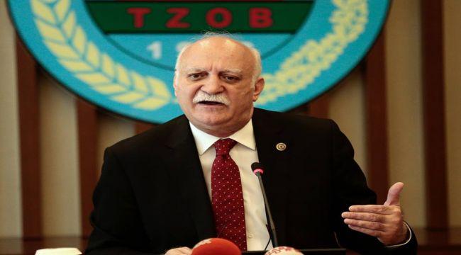 TZOB Genel Başkanı Bayraktar: Mart ayında üretici ve market fiyat farkı 5 kata ulaştı