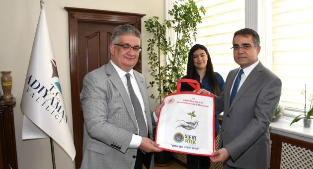 Vali Aykut Pekmez'e Dünya Çevre Günü Ziyareti