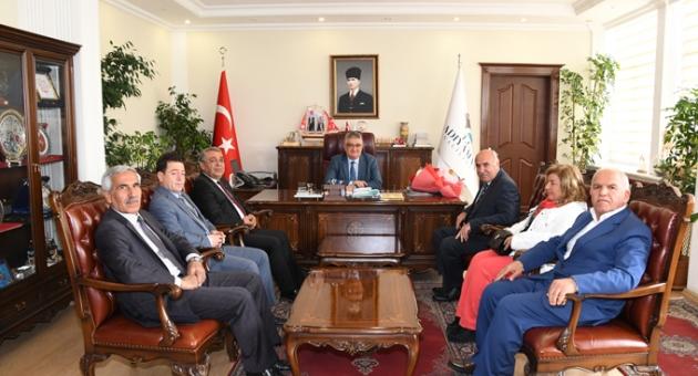 Vali Aykut Pekmez'e Turizm Haftası Ziyareti