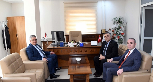 Vali Aykut Pekmez, Kurum Ziyaretlerine Devam Ediyor