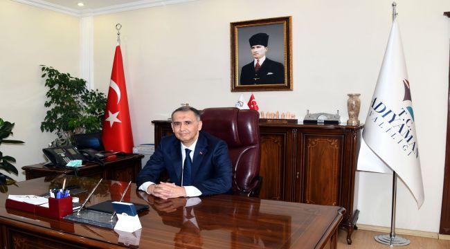 Vali Çuhadar, Adıyaman'ın il oluşunun 66.yıl dönümünü kutladı