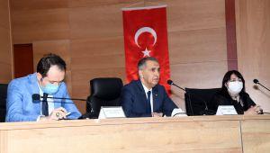 Vali Çuhadar Başkanlığında İl Koordinasyon Kurulu Toplantısı yapıldı