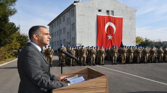 Vali Çuhadar'ın Jandarma Teşkilatı'nın kuruluş yıl dönümü mesajı