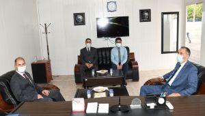 Vali Çuhadar'ın kurum ziyaretleri devam ediyor