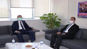 Vali Çuhadar, İŞKUR'dan brifing aldı