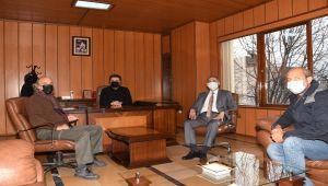 Vali Çuhadar, Nemrut Rotary Kulübünü ziyaret etti