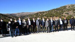 Vali Çuhadar ve milletvekilleri, sulama projelerini inceledi