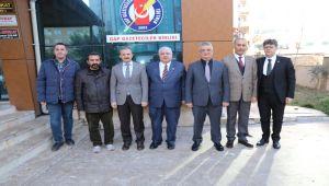 Vali Pekmez'den, GAP Gazeteciler Birliği Genel Başkanı Kıymaz'a Ziyaret