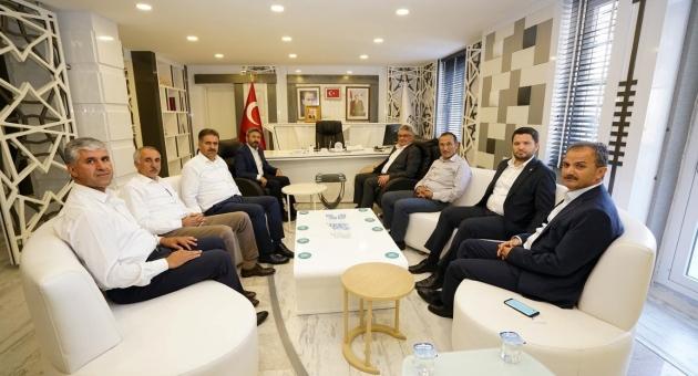 Vali ve Milletvekillerinden, Başkan Kılınç'a Ziyaret
