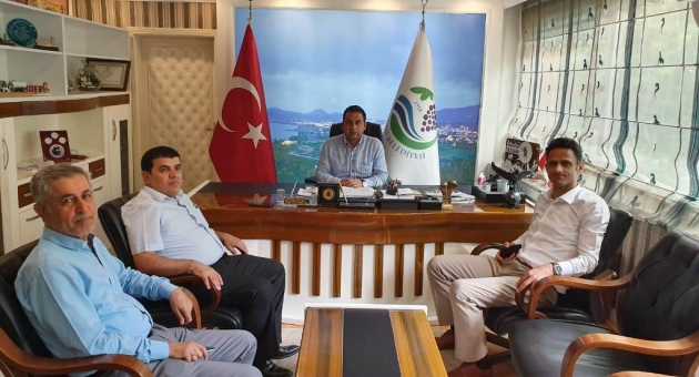 Vali Yardımcısı Kaya'dan Başkan Yıldırım'a Ziyaret