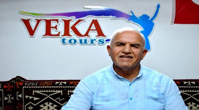 Veka Turizm İşletme sahibi Veysel Kuştepe: Turlarımızın yüzde 80'i iptal oldu