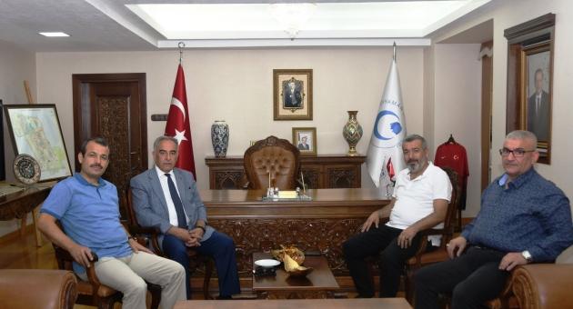 Yargıtay Üyesi Akgün'den Rektör Turgut'a Ziyaret