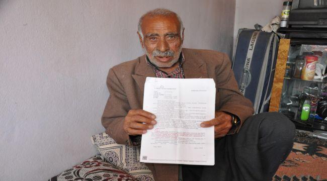 Yaşlı adam 72 yıldır kimliksiz yaşıyor - Videolu Haber