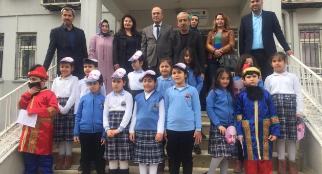Yavuz Selim İlkokulu 12 Mart İstiklal Marşı'nın Kabulünü Törenle Kutladı