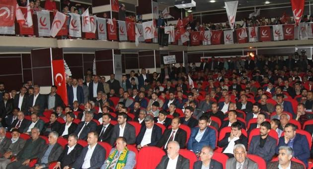 Yeniden Refah Partisi İl Kongresi Yapıldı