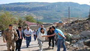 Yeşim Pekmez'den Gerger'deki Şehit Ailelerine Ziyaret