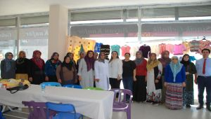 Yeşim Pekmez'den Sincik Halk Eğitim Kurslarına Ziyaret