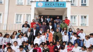 Yeşim Pekmez'den Tut Halk Eğitim Merkezine Ziyaret