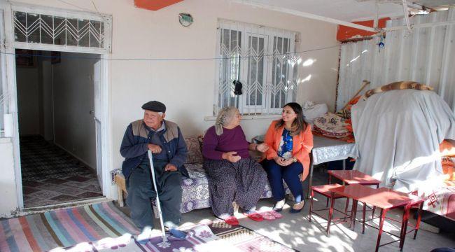 Yeşim Pekmez'den Tut İlçesindeki Şehit Ailelerine Ziyaret