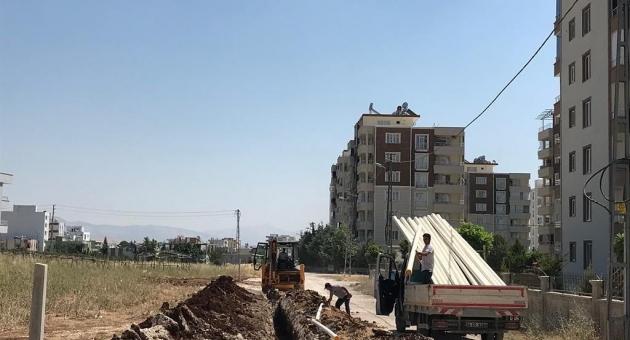 Yunus Emre Mahallesinin Altyapısı Yenileniyor